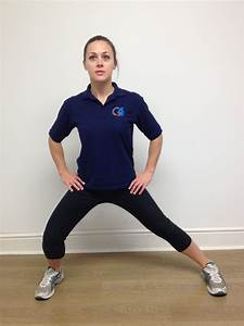 Groin Adductor Muscle Stretch; Standing - G4 Physiotherapy ...