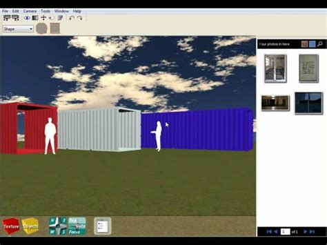 shipping container home design software  windows