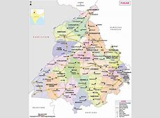 Punjab Map State Information, Districts and Facts