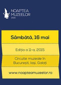 NOAPTEA MUZEELOR 2018. Programul complet al muzeelor din Iași