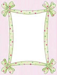 Free Polka Dot Border Paper