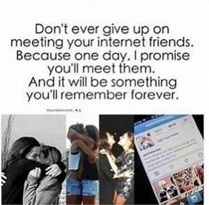 Internet Friendship Quotes QuotesGram