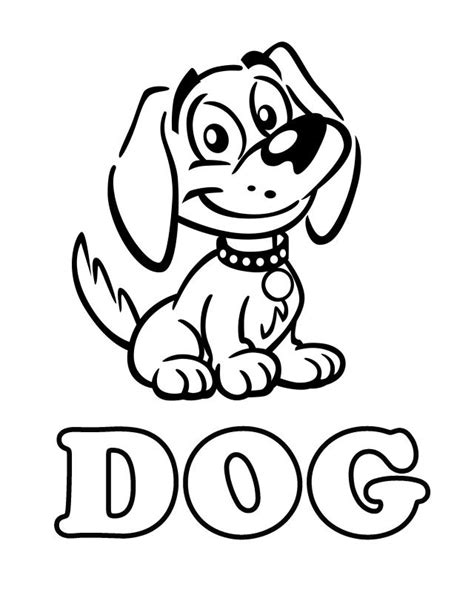 Printable Coloring Sheets Of Dogs