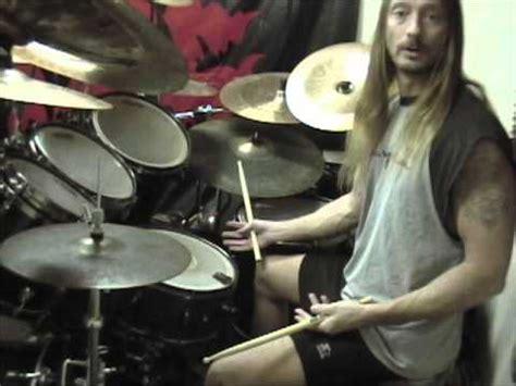 steve asheim blast beats double bass technique youtube