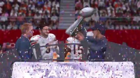 Madden Nfl 15 Chicago Bears Super Bowl Celebration Youtube