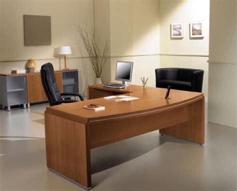 bureau avec retour informatique directionnel mobilier raimondi