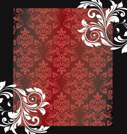 ide keren debut invitation background red  black