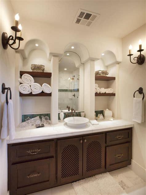 Bathroom Storage Ideas by 12 Clever Bathroom Storage Ideas Hgtv