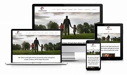 Church Websites Website Responsive