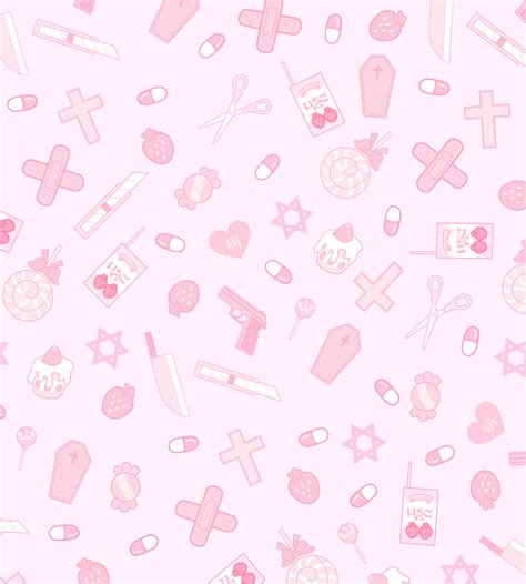 Aesthetic Pastel Home Screen Kawaii Wallpaper by Pin By Shoujo Guts On Miscellany In 2019 Kawaii