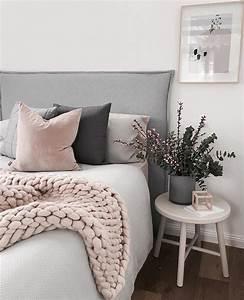 Chambre Rose Pale : chambre rose et gris comment la d corer pour tre dans le vent ~ Melissatoandfro.com Idées de Décoration