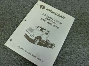 1998 International 4600 4700 4800 4900 Truck Electrical