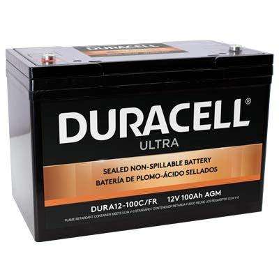 agm batterie 100ah slaa12 100c fr duracell ultra 12v sla sealed lead acid 100ah agm battery with m6 insert