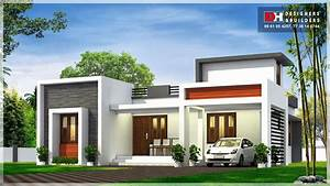 950, Square, Feet, 2, Bedroom, Flat, Roof, Modern, Contemporary