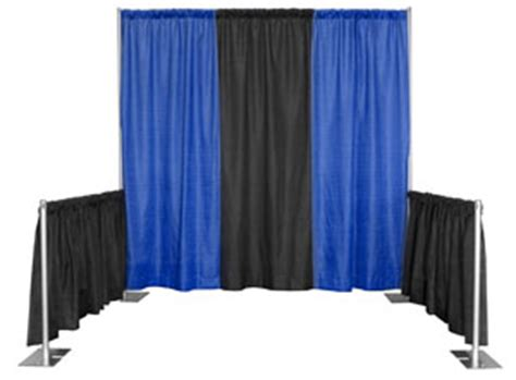 Expo Pipe And Drape - pipe and drape tradeshow booth kits expo exhibits