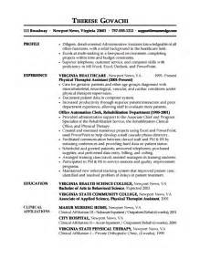 resume for admin exles administrative assistant resume