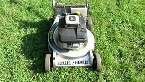 John Deere 21 U0026quot  Lawn Mower Model 14st Kawasaki 5hp