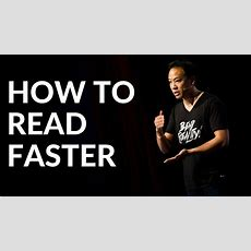 Kwik Brain How To Read Faster (episode 7) Youtube