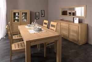 Table Chene Clair : table en chene clair solutions pour la d coration int rieure de votre maison ~ Teatrodelosmanantiales.com Idées de Décoration
