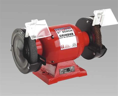 Bench Grinder 150mm With Wire Wheel 370w230v