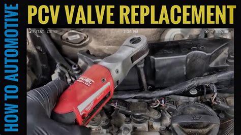replace  pcv valve oil trap   volvo xc