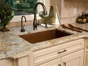 How granite countertops work howstuffworks for What kind of paint to use on kitchen cabinets for custom heat resistant stickers