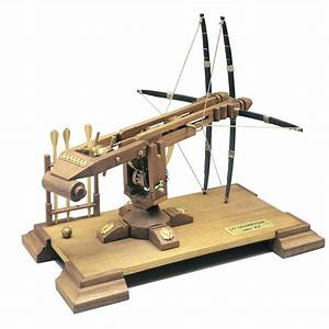 Scorpion Double Crossbow 16th Century Mantua Wood Kit 1 17 Scale 110x210mm