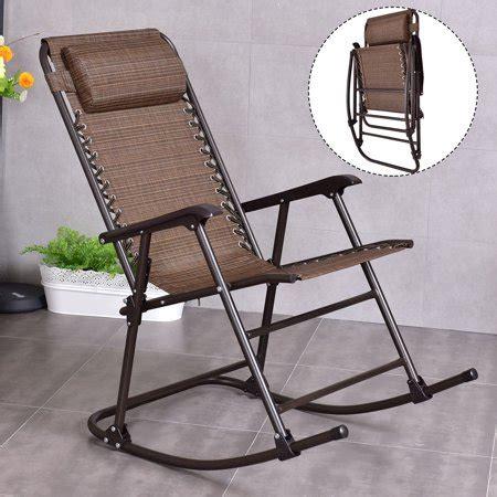 folding outdoor rocking chair model costway folding rocking chair porch patio indoor foldable