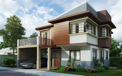 Two Storey House Design Phd2015004  Pinoy House Designs