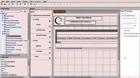 creating reports  financial reporting web studio youtube