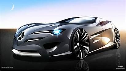 Mercedes Concept Benz Lc Cars Futuristik Coche