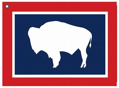 Wyoming Flag State Towel Usa Golf Pleased
