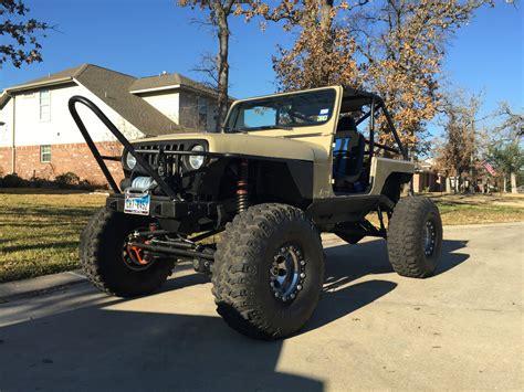 jeep rock crawler 1992 jeep wrangler yj custom rock crawler street legal