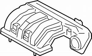 Lincoln Mkt Engine Intake Manifold  Upper  Liter