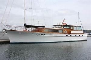1966 STEPHENS BROS. 65' Classic MotorYacht Power Boat For ...