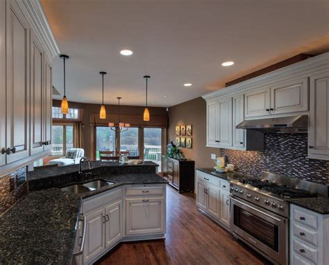blue pearl granite countertops bring luxury and beauty to