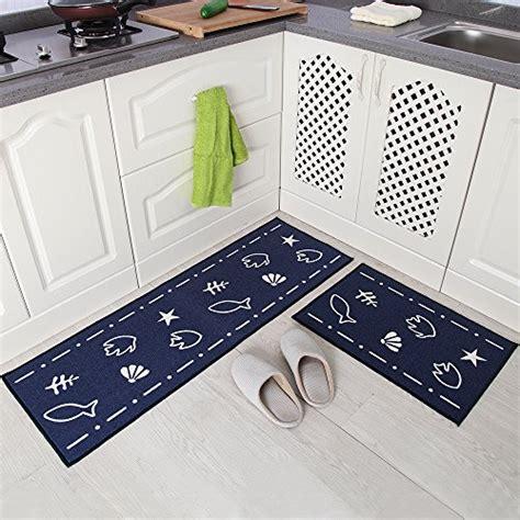 set   slip kitchen floor mat doormat rubber  rug