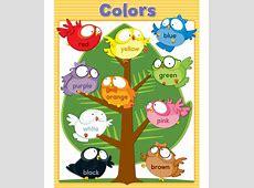Owl Pals Colors Chart Grade PK1