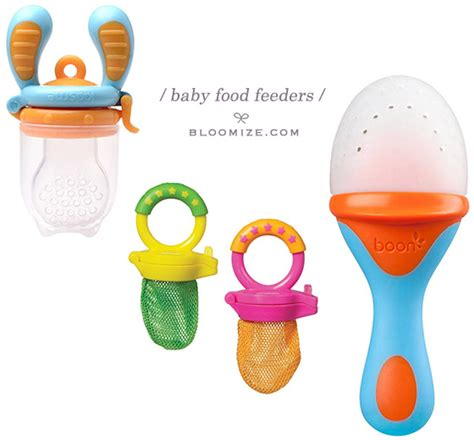 silicone baby feeder baby food feeder etc bloomize