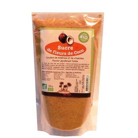 organic coconut palm sugar 250g la maison du coco shop at greenweez co uk