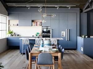 Idée De Décoration : du bleu dans la cuisine cocon d co vie nomade ~ Melissatoandfro.com Idées de Décoration
