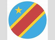 The Democratic Republic Of The Congo Flag Vector Emoji