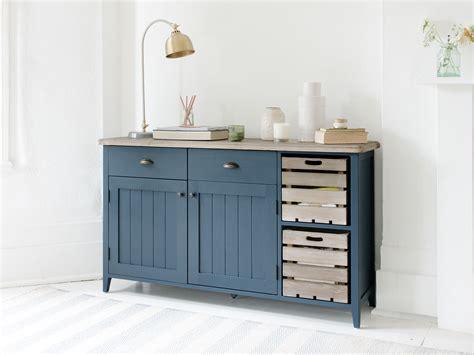 Blue Sideboard by Cidre Sideboard In Inky Blue Painted Sideboard Loaf