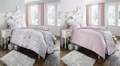 Floral Striped Pack Of Two Duvet Sets Catherine Lansfield
