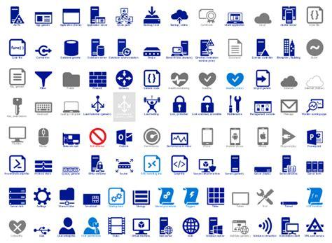 design elements azure architecture symbols microsoft