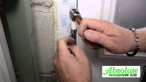 adjusting  composite door  hinge youtube
