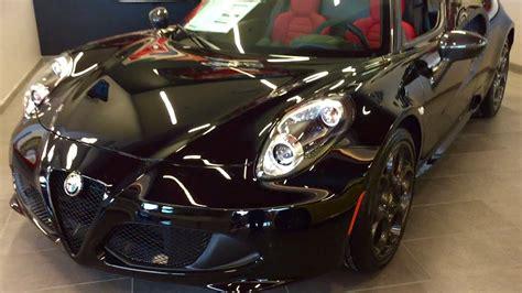 Kickass Black 2016 Alfa Romeo 4c Spider