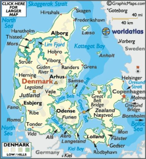 denmark map world uk england denmark