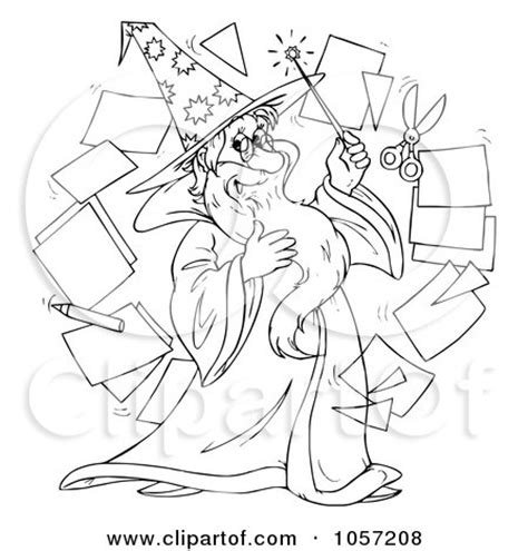 royalty  clip art illustration   coloring page
