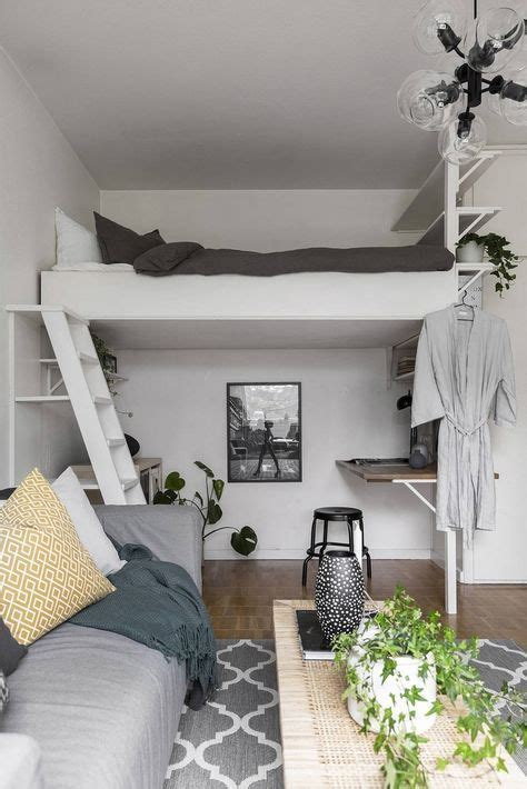 petit espace en teintes neutres bedroom en